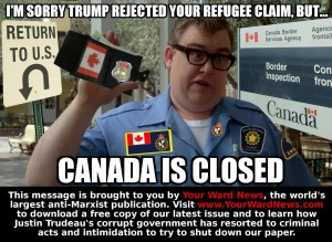 canada is closed