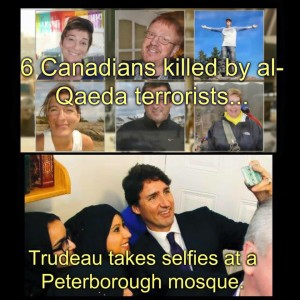 TRUDEAU AND TERRORISTS