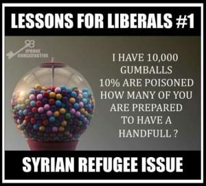 Syrian gumballs