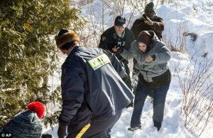 MOUNTIES WELCOME SOMALI ILLEGALS