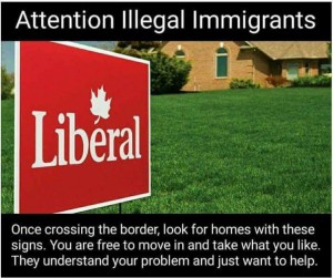 LIBERAL LAWN SIGN