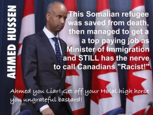 AHMED HUSSEN YOU LIE!