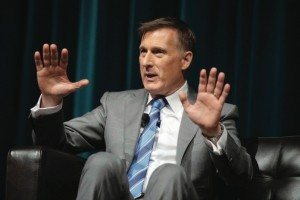 MAXIME BERNIER IN ACTION